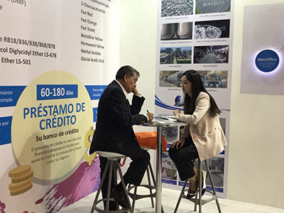 Guangdi Chemical attended the Latin American Coatings Show